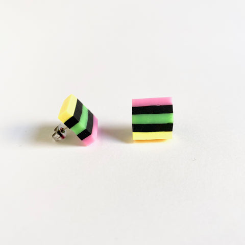Licorice All Sorts Earrings