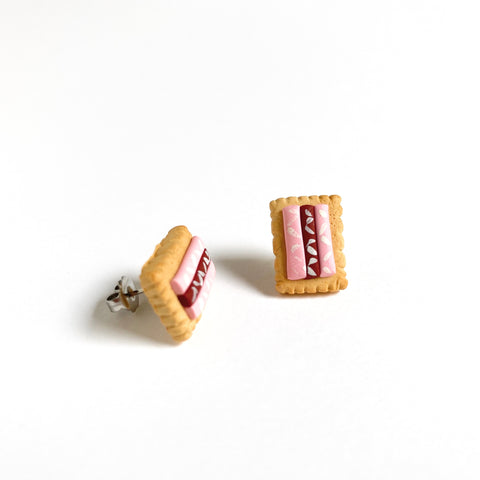 Iced Vovo Biscuit Earrings