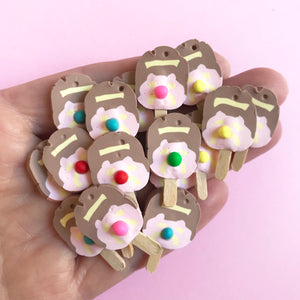 Bubble O Bill Earrings - Iconic Australian Ice Cream Treat you can wear!