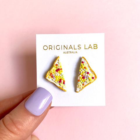 Fairy Bread Stud Earrings