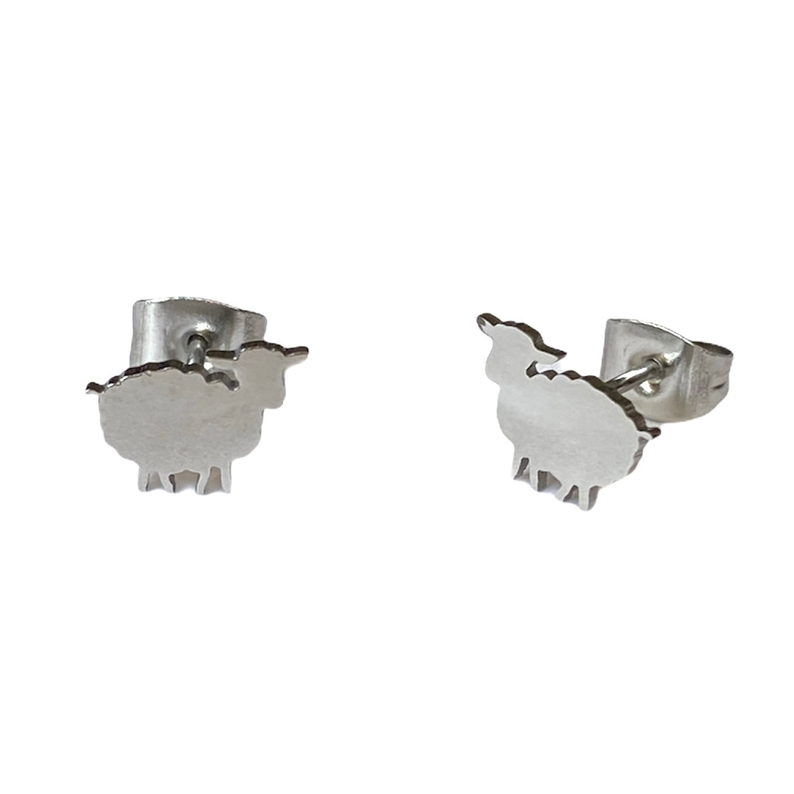 Sheep Studs Silver