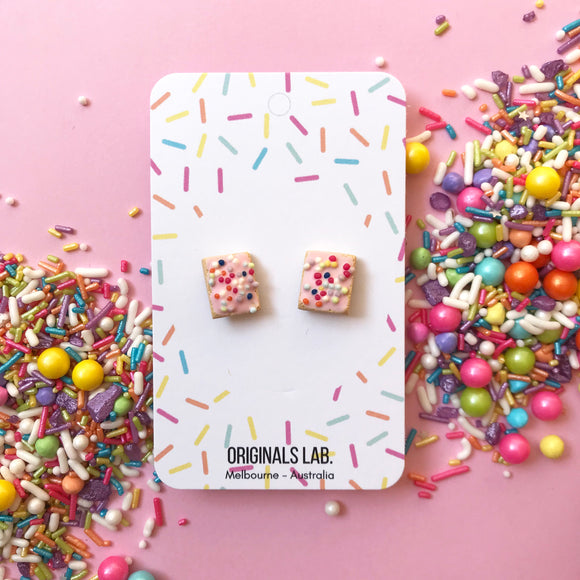 Hundreds and Thousand Biscuit Earrings - Classic Treat you can wear!
