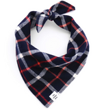 Oxford flannel bandana