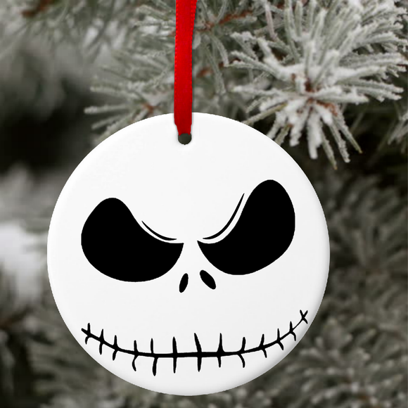 Jack Skellington Christmas Ornament Gift Tag Nightmare Before Christ Jin Jin Junction