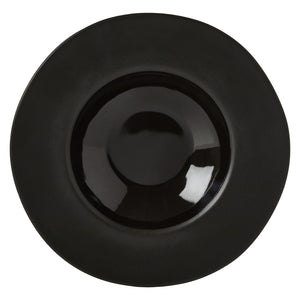 Noelle Pasta Bowl, Black Two-Tone Stoneware