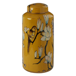 Lina Oriental Ceramic Jar, Large