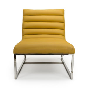 Jamie Accent Chair, Yolk Yellow