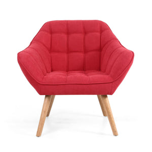 Dora Studio Chair, Scarlet