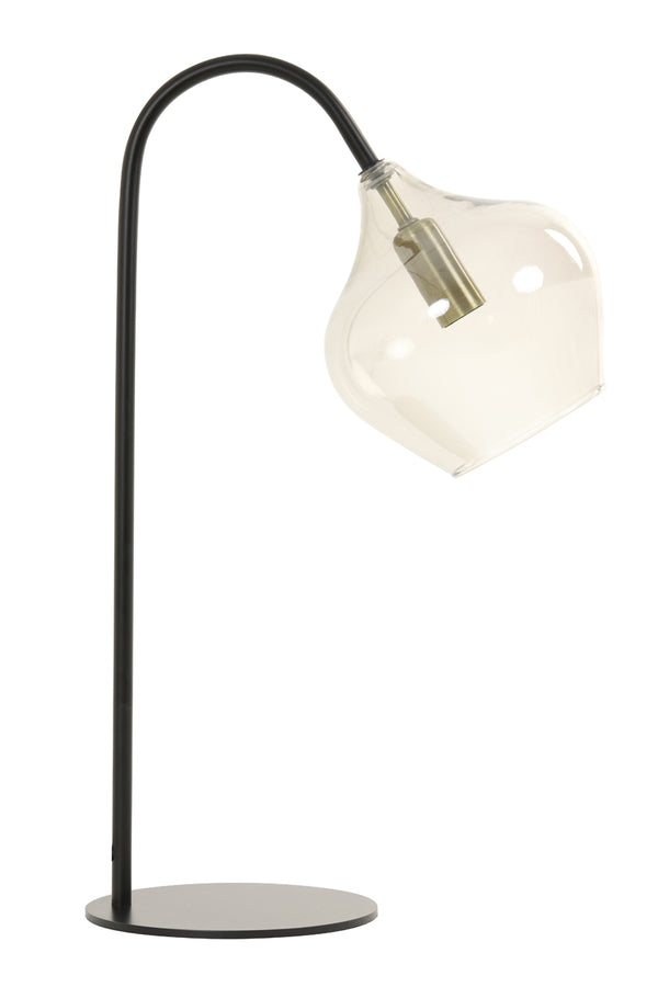 Nelly Table Lamp, Matt Black
