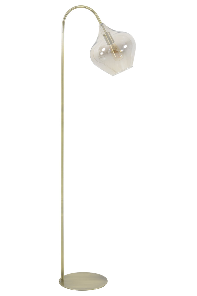 Nelly Floor Lamp, Antique Bronze