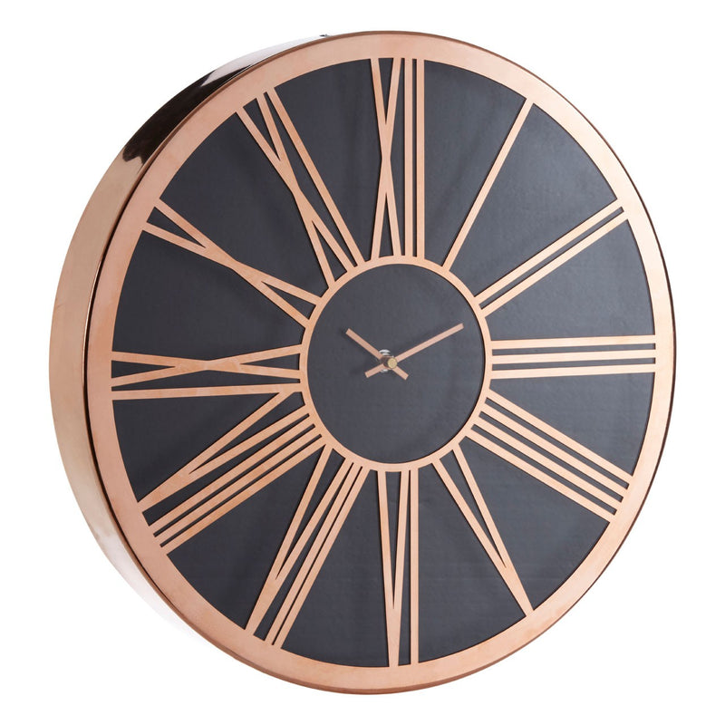 Elizabeth Wall Clock, Rose Gold