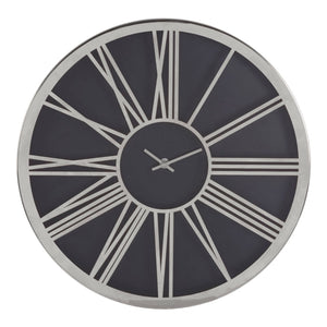 Elizabeth Wall Clock, Chrome