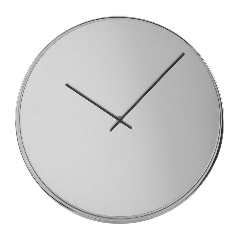 Elizabeth Wall Clock, Chrome / Mirror