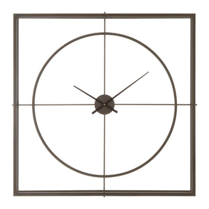 Tilly Wall Clock, Rust