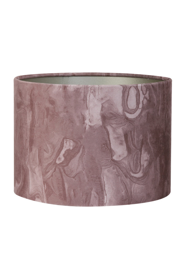 Jessica Light Shade, Pink Marble Effect