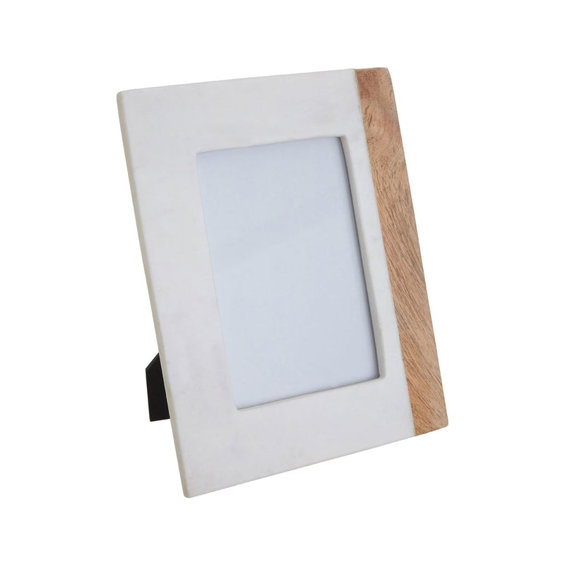 Greta Photo Frame, Marble 5'' x 7''