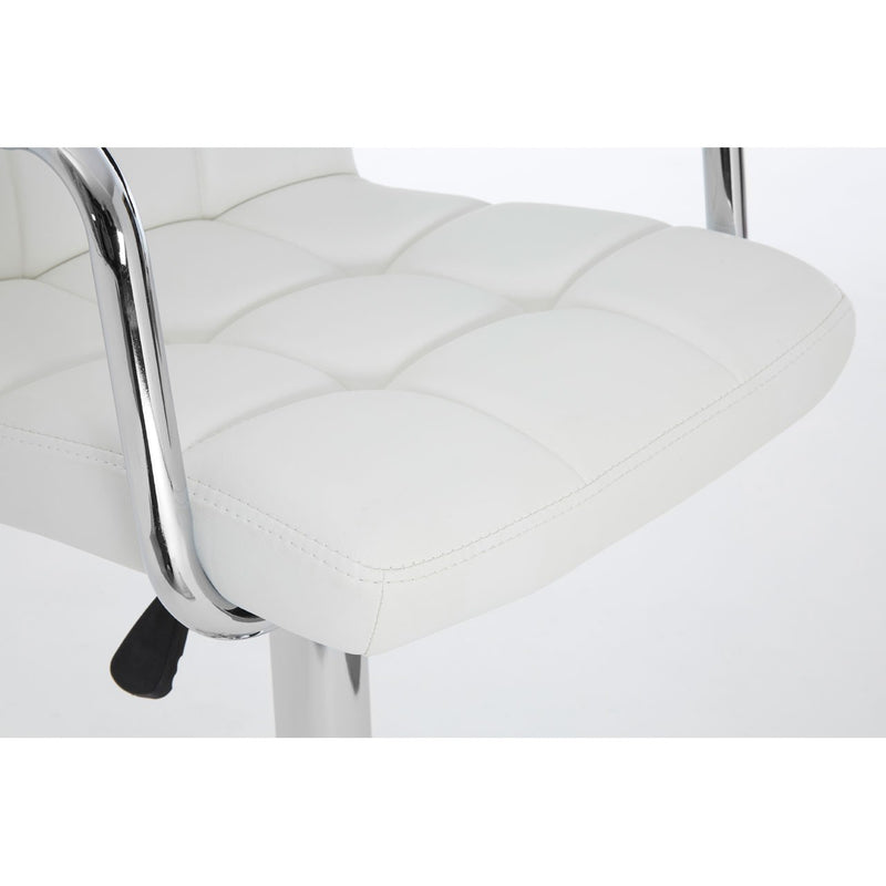 Rita Bar Chair, White