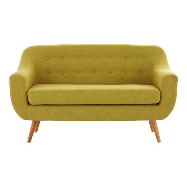 Luna Scandi Sofa, Yellow