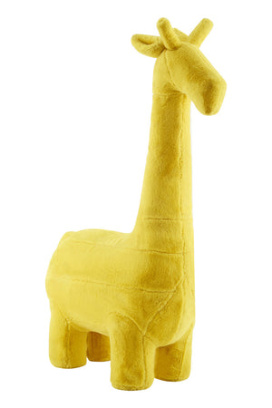 Giraffe Plush Animal Chair, Yellow