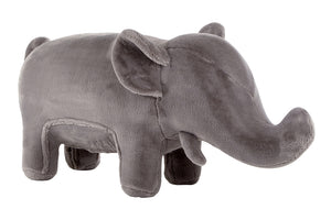 Elephant Plush Animal Chair, Grey