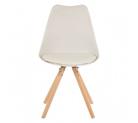 Ava Dining Chair, White