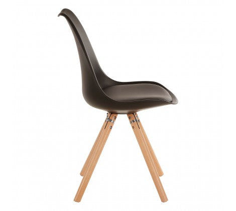 Ava Dining Chair, Black