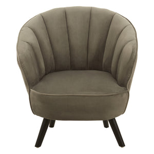 Daphne Cocktail Chair, Grey