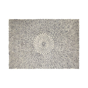 Lucy Area Rug, Wool / Cotton