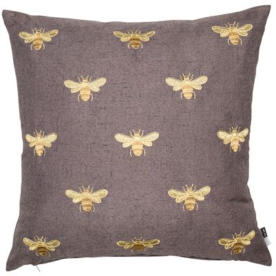 Queen Bee Square feather filled Cushion