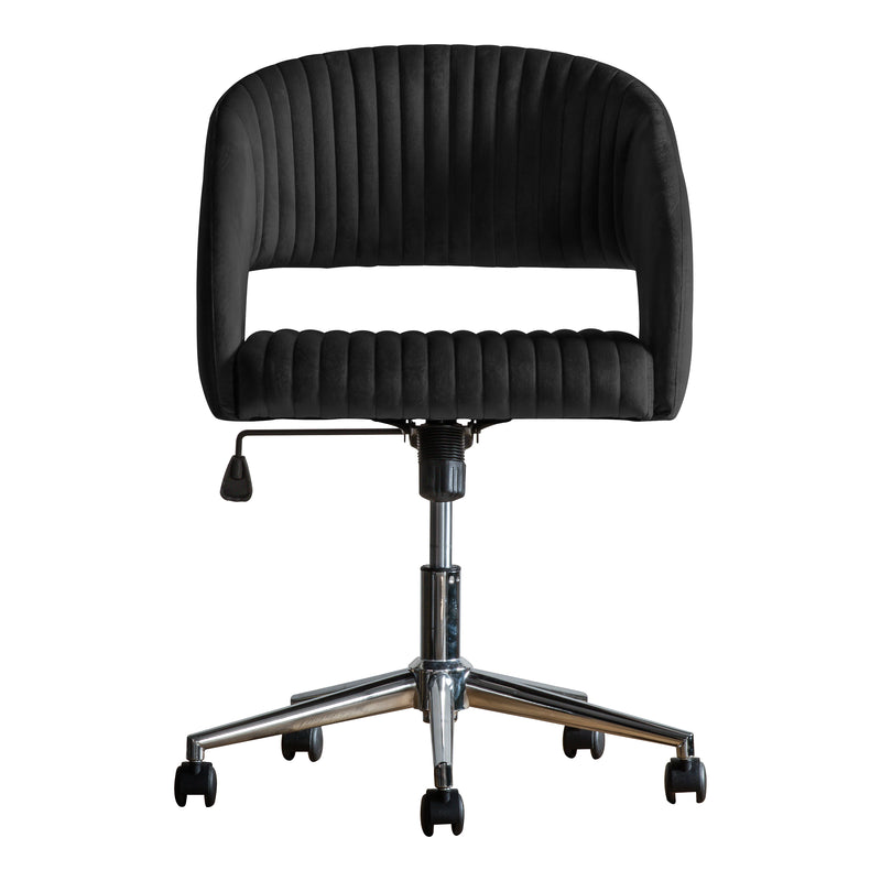 Monroe Office Swivel Chair, Ebony