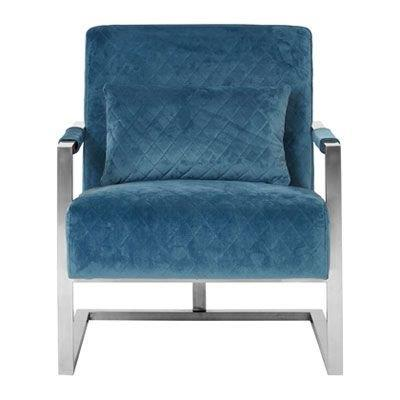 Leona Accent Chair, Teal