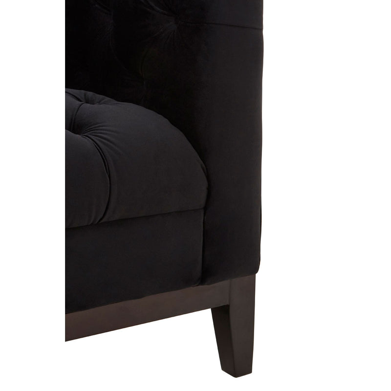 Sabrina 3 Seater Sofa, Black