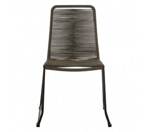 Daisy Rope Dining Chair, Grey