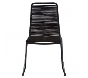 Daisy Rope Dining Chair, Black