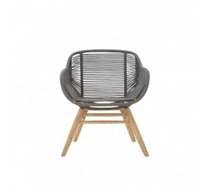 Daisy Rope Armchair, Grey