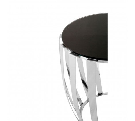 Alice Stainless Steel Side Table