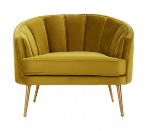 Morag Cocktail Chair, Ochre