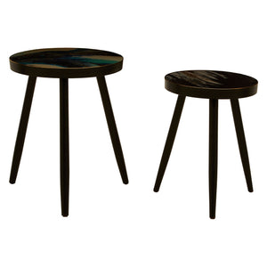 Abigail Side Tables, Set of 2