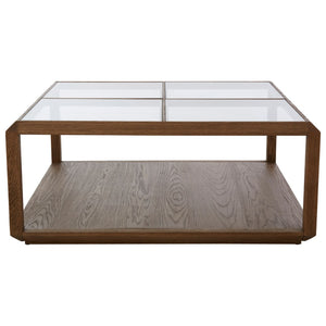 Laverne Coffee Table, Oak