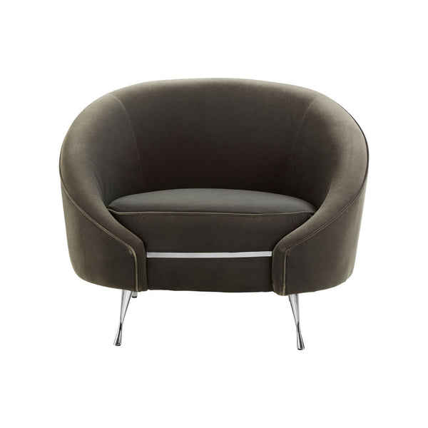Carrie Accent Chair, Space Grey
