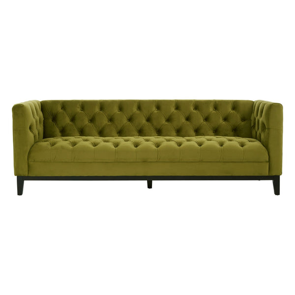 Sabrina 3 Seater Sofa, Moss Green