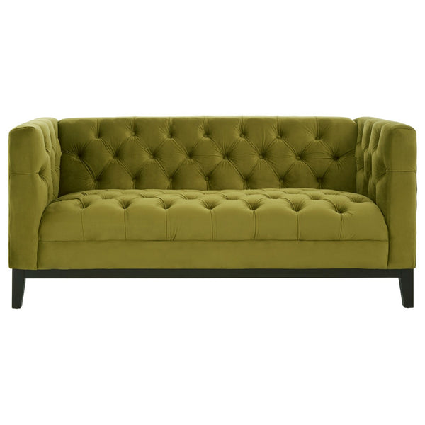 Sabrina 2 Seater Sofa, Moss Green