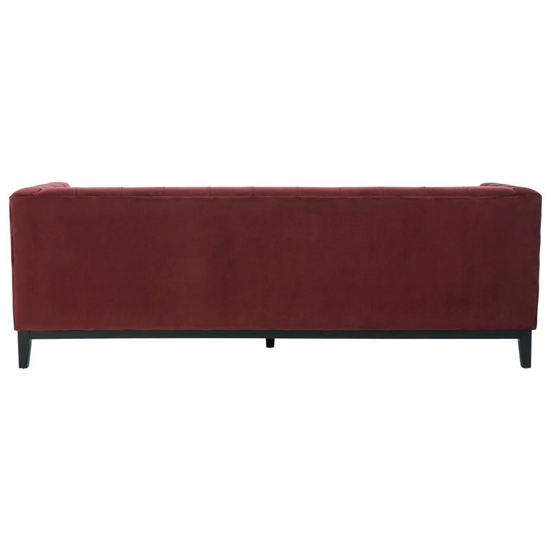Sabrina 3 Seater Sofa, Crimson