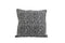 Zebra Square Cushion, Black / White