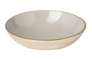 Sienna Medium Decorative Bowl, Grey / Gold Enamel