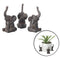 Elephant Pot Risers, Set of 3