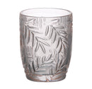 Palm Leaf Tumbler, Blush