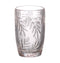 Palm Leaf Hi-Ball Glass, Blush