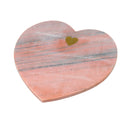 Heart You Large Cutting Board, Blush Marble