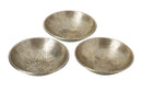 Hema Flower Pattern Metal Bowls, Set of 3